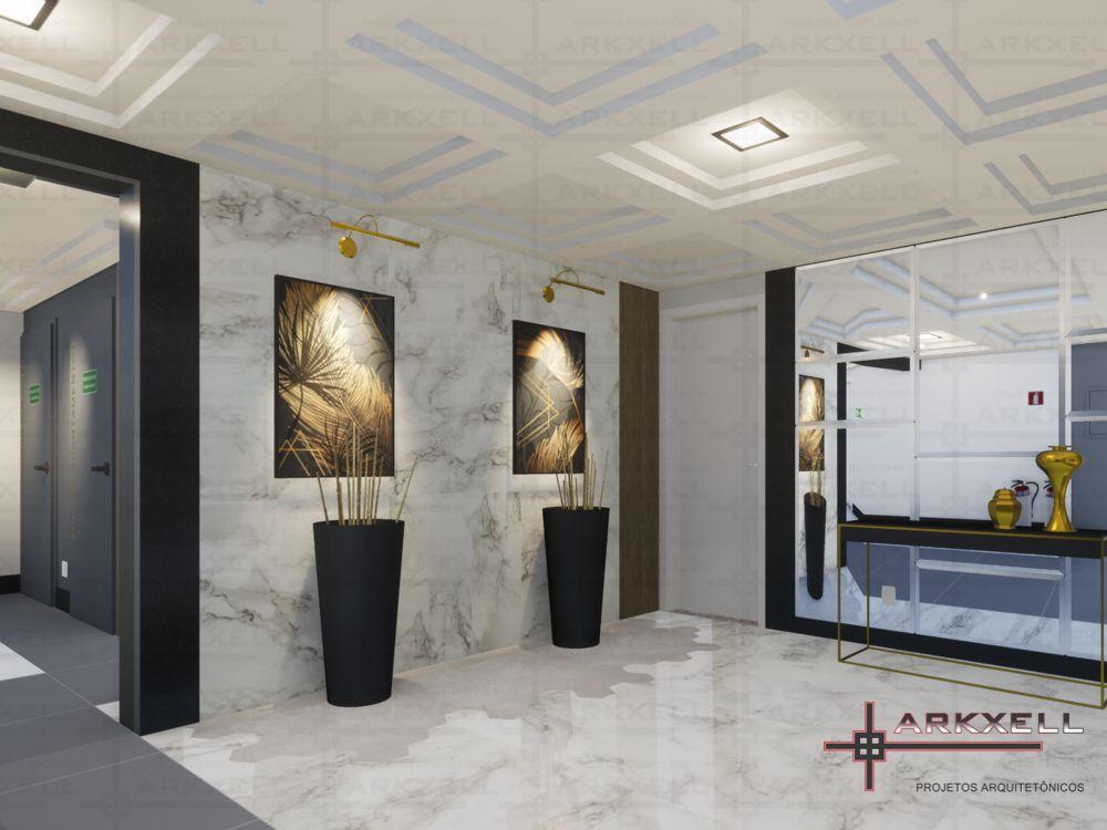 Projeto Hall de Acesso - Reserva dos Lagos